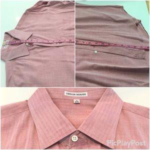 Giorgio Armani Long Sleeves Shirt, SZ.16 - 32/33